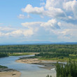 Stock Photo: North Saskatchewan River