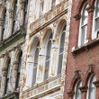 Stock Photo: Old Facades