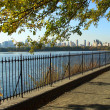 Stock Photo: NYC Central Park reservoir