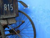 Rickshaw back — Stock Photo