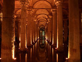 Basilica Cistern in Istanbul — Stock Photo