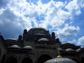 Dramatic Mosque in Istanbul — Stock Photo