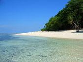 Sipadan island beach, Sabah, Malaysia — Stock Photo