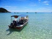 Tekne, perhentian Adaları — Stok fotoğraf