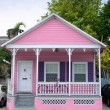 Pink house - Stock Photo