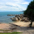 Rocky beach, Ko Samui — Stock Photo