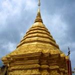 Chedi in Doi Sutep Temple — Stock Photo