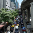 Heavy traffic in Bangkok — Stock Photo