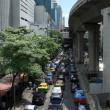 tung trafik i bangkok — Stockfoto