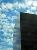 Black glass skyscraper — Stockfoto