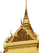 Isolated thai chedi — Stock Photo