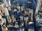 5th avenue from above, New York — Stock Photo