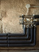 Insulated pipes — Stock Photo