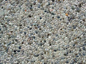 Cemented pebbles background — Stock Photo
