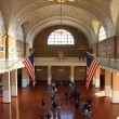 Stock Photo: Ellis Island main hall