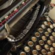 Royalty-Free Stock Photo: Antique typewriter