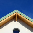 Stock Photo: Hip roof