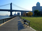 Empire-Fulton Ferry State Park — Stock Photo