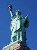 Statue of Liberty, full — Stock Photo