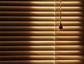 Closed venetian blinds background — Stock Photo