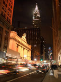 42nd street by night — Stock Photo