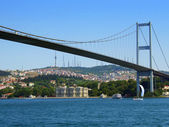 Bosphorus bridge — Foto de Stock