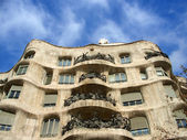 Casa Mila' exterior, Barcelona — Stock Photo