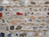 Colored stone wall background — Stock Photo