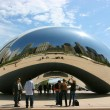 Millennium Park Cloud Gate — Stock Photo