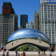 Millennium Park Cloud Gate — Stock Photo #2463847