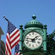 Marshall Field&#039;s Clock - Stock Photo