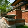 Stock Photo: Frank Lloyd Wright's Robie House