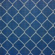 Metal chainlink grid - Stock Photo