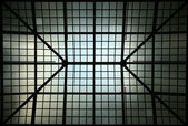 Skylight silhouette — Stock Photo