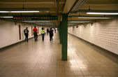 Subway passage — Stock Photo