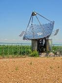 Solar panels, vertical — Foto Stock