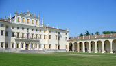 Villa Manin facade and porch — Stock Photo