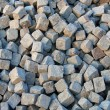 Paving cobblestones — Stock Photo