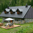 Alpine farm — Stockfoto