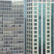 Stock Photo: Highrise buildings background
