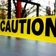 Stock Photo: Caution tape