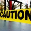 Caution tape — Stock Photo