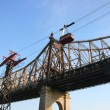 Roosevelt Island aerial tramway — Stock Photo