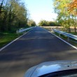 Road motion blur — Stock Photo