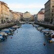 Stock Photo: Canal grande in Trieste