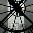 Stock Photo: Sacre Coeur seen from Orsay museum