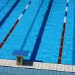 Stock Photo: Pool lane six