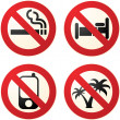 Do not signs — Stock Photo #2475447