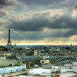 Stock Photo: Paris roof tops view