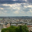 Paris cityscape panorama — Stock Photo